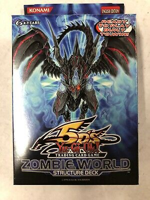 AU40.53 • Buy Yugioh Zombie World Structure Theme Deck For Card Game CCG TCG
