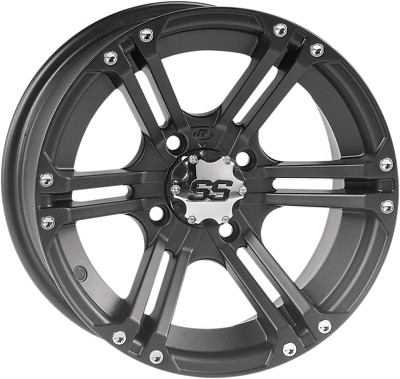 $123.20 • Buy ITP SS212 Alloy Front Wheel - 14x6 (4+2 Offset) 4/156 Black