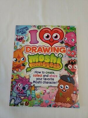 £2.12 • Buy I ❤ Drawing Moshi Monsters W/Stickers, Stencils And More