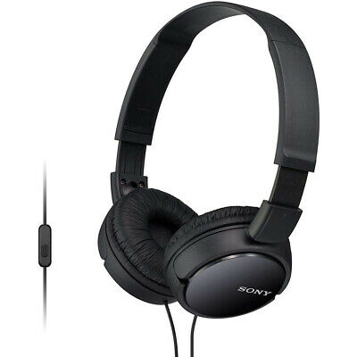 Sony Over Ear Sound Monitoring Headphones With Smartphone Mic & Control - Black • 18.13£