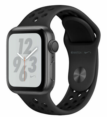 $ CDN492.73 • Buy Apple Watch Series 4 Nike+ 44 Mm Space Gray Aluminum Case With Anthracite/Black