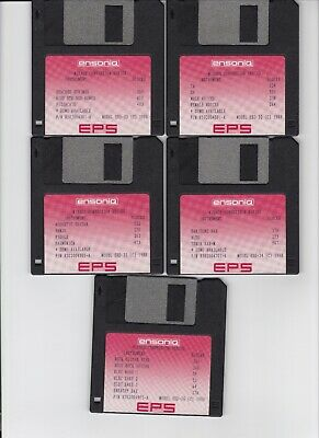 $50 • Buy Ensoniq Eps Sound Library Vol #4 Eps  / Eps16+ / Asr 10/88 (10) Disk Set
