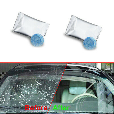 $ CDN1.94 • Buy 10x Car Auto Windshield Washer Cleaning Solid Effervescent Tablets Accessories