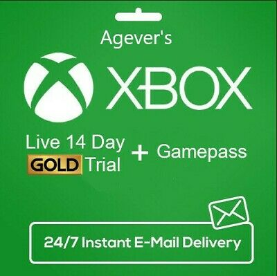 $ CDN3.41 • Buy XBOX LIVE 14 Day GOLD + Game Pass (Ultimate) Trial Code INSTANT DISPATCH