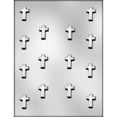 Cross Mini Chocolate Mould / Christmas / Easter Mould • 2.56£