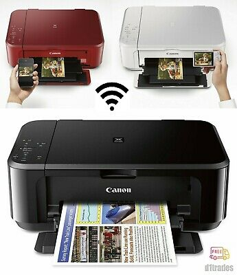 View Details Canon PIXMA Wireless Office All-in-One Photo Printer Copier Scanner, INK INCLUDE • 54.99$