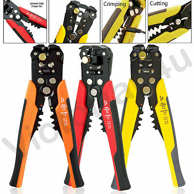 Self Adjustable Automatic Cable Wire Crimper Crimping Tool Stripper Plier Cutter • 8.35£
