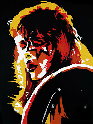 KISS ACE FREHLEY 'Alive II' Limited Number Edition ART PRINT 18  X 12  • 11£