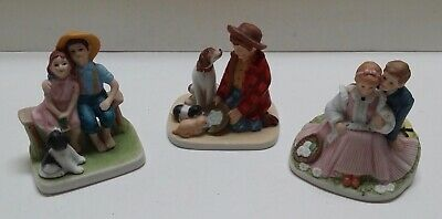 $ CDN35.51 • Buy Norman Rockwell 3 Porcelain Figurines
