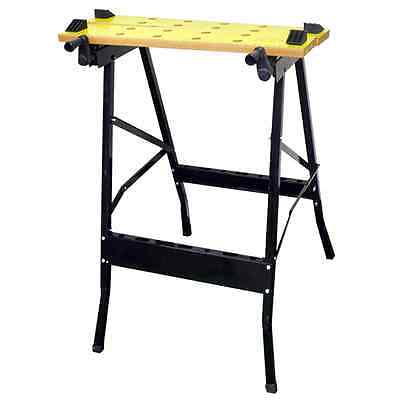 £22.95 • Buy DIY Work Top Bench Table Portable Folding Workbench Workmate With Clamping Vice