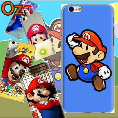 AU12 • Buy Mario Case For ASUS Zenfone Live (L1) ZA550KL, Cover WeirdLand