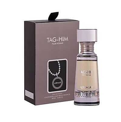 Armaf Tag-him Pour Homme Perfume Oil For Men (non Alcoholic) Ideal Gift - 20 Ml • 20.99£