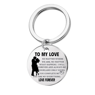 To My LOVE Keyring Romantic Gift For Husband Wife Boyfriend Girlfriend Valentine • 4.99£