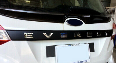 Rear Trunk Lid Cover For All New Ford Everest Endeavour 2018 - 2019 • 100$