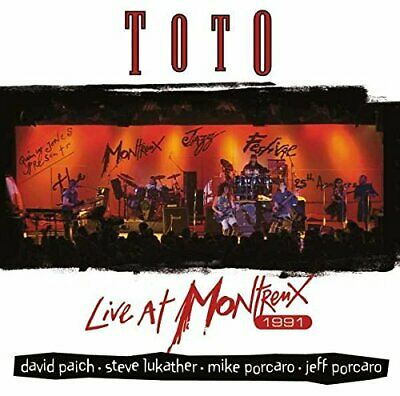 £12.55 • Buy Toto - Live At Montreux 1991 [CD]