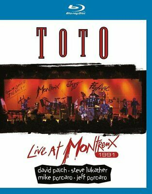 £17.01 • Buy Toto: Live At Montreux 1991 [Blu-ray] [DVD][Region 2]
