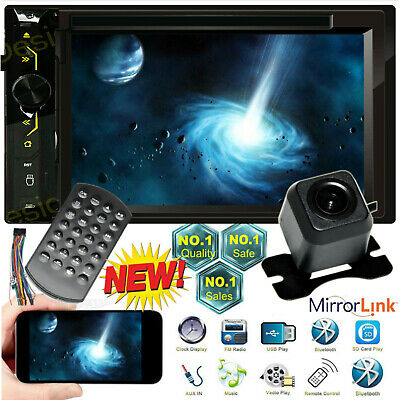 $124.50 • Buy For 04 05 06 07 08 09 10 PT Cruiser Durango 2 Din Car Stereo MirrorLink-GPS+ Cam