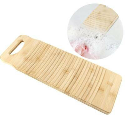 £10.80 • Buy Bamboo Washboard Thicken Wood Washing Board Wash Clean Home Laundry Clothes UK