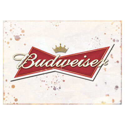 Budweiser Vintage Beer Old Sign Classic Vintage Advertising Garden Shed Plaque • 7.19£