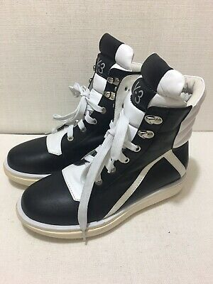 AU230 • Buy Y3 YOHJI YAMAMOTO - Black / White High Top Sneakers -  Sz 39 - BNWOT