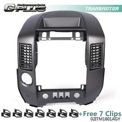 $63.40 • Buy For 2004-2006 Nissan Titan Armada Center Dash Radio Ac Bezel W/ Speaker Bezel