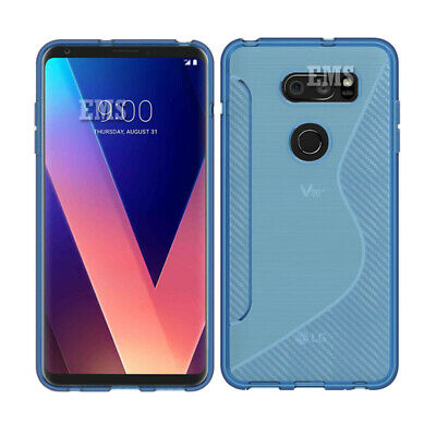 AU7.99 • Buy For LG V30+ /V30 Plus S Curve Slim Fit Soft Gel Clear Heavy Duty Case Cover