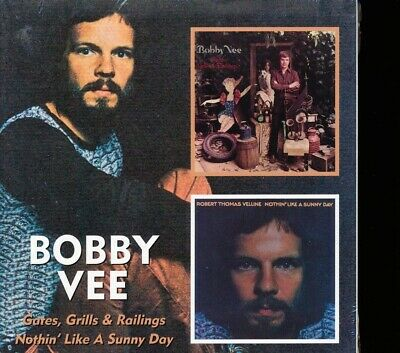 $21 • Buy SEALED NEW CD Bobby Vee - Gates Grills And Railings + Nothing Like A Sunny Day