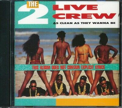 $ CDN32.18 • Buy SEALED NEW CD 2 Live Crew - As Clean As They Wanna Be