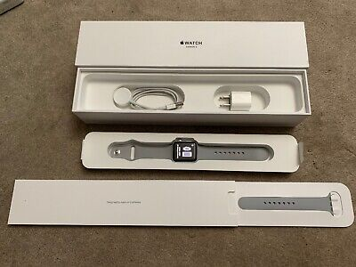 $ CDN256.22 • Buy Apple Watch Series 3 38mm Space Gray Aluminum Case With Gray Sport Band