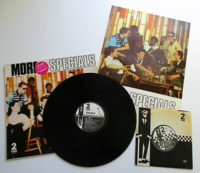The Specials - More Specials UK 1980 Two Tone LP With Poster & Bonus 7  Single • 69.99£