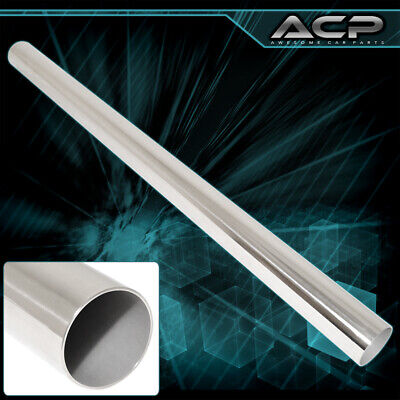 $ CDN84.60 • Buy 4  Od 4' Long T304 Catback Straight Pipe Stainless Steel 14 Gauge For Nissan