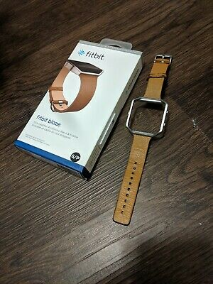 $ CDN31.79 • Buy Fitbit Blaze Slim Leather Accessory Band Camel Genuine Leather Used