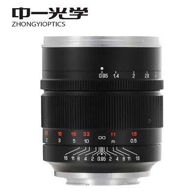 $ CDN952.04 • Buy Zhongyi Mitakon Speedmaster 50mm F/0.95 III Lens For Sony E A5000 A6300 A73 A7R3