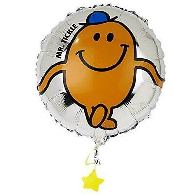 £4.69 • Buy Mr Men Mr Tickle 45cm Birthday Party Foil Helium Balloon With Ribbon & Weight