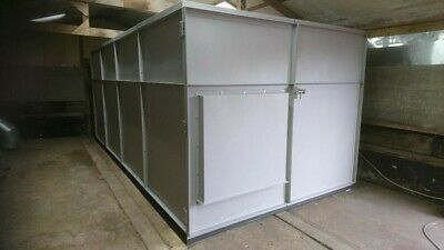 Shot Blasting Room - Brand New/Made To Order/Delivery Via Haulier • 12,000£