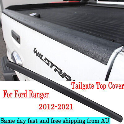 AU65 • Buy Tailgate Rail Guard Cap Protector Rear Cover For 2012-2020 Ford Ranger Raptor
