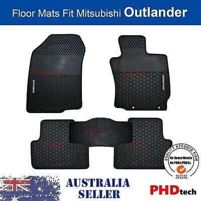 AU89 • Buy MITSUBISHI Outlander 2012-Current Tailored All Weather Rubber Car Floor Mats