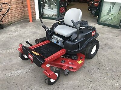 AU5999 • Buy AS NEW Toro Zero Turn Ride On Mower, 50 Inch Fabricated Deck, ONLY 12 HOURS USE!