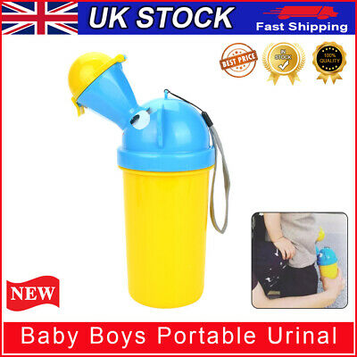 Portable Car Toddler Boys Girl Baby Potty Toilet Travel Kids Urinal Pee Training • 6.69£