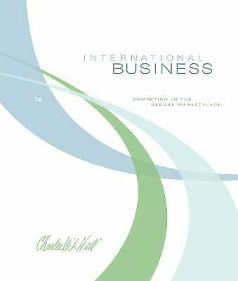 £3.55 • Buy International Business By Hill, Charles W. L.