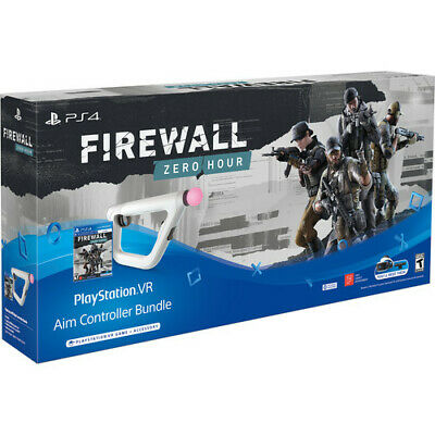 AU278 • Buy Firewall Zero Hour Game With Aim Controller Bundle Sony PS4 VR Virtual Reality