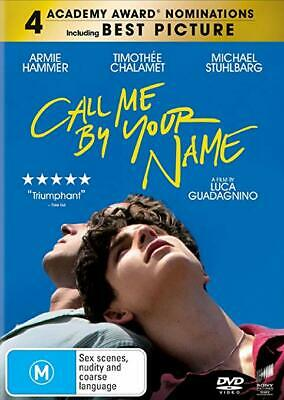 AU22.30 • Buy Call Me By Your Name DVD