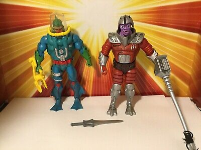 $59.99 • Buy Masters Of The Universe Classics Flogg + Hydron New Adventures He-Man Lot Mattel