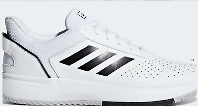 AU69.99 • Buy New Adidas Mens Tennis Shoes Trainers Sneakers Sports White Running US 10 UK 9.5
