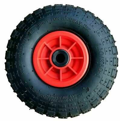 £12.99 • Buy 10  Pneumatic Sack Truck Trolley Wheel 4.10 - 4 Choose Your Bore Size
