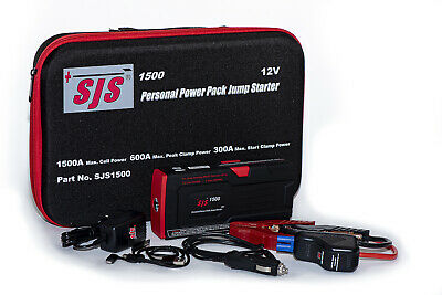 AU229 • Buy Sjs Smart Jump Starter Charger & Power Pack 1500a -  4.2l Diesel 7.0l Petrol