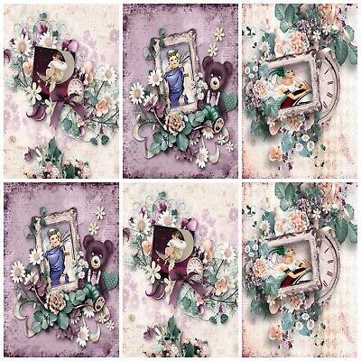£2.90 • Buy MOMENTS OF ART DECO  Embellishments (12), Card Making Toppers, Card Toppers