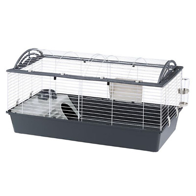 £78.59 • Buy Ferplast Casita 120 Rabbit Cage - Grey, Practical For Guinea Pigs And Rabbits