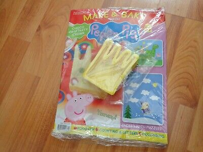 Hachette Make And Bake With Peppa Pig Collection Issue 34 Inc Peppas Crown Mould • 8.99£