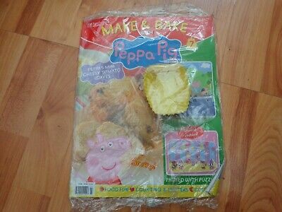 -hachette Make And Bake With Peppa Pig Issue 7 Mini Loaf Moulds • 8.99£
